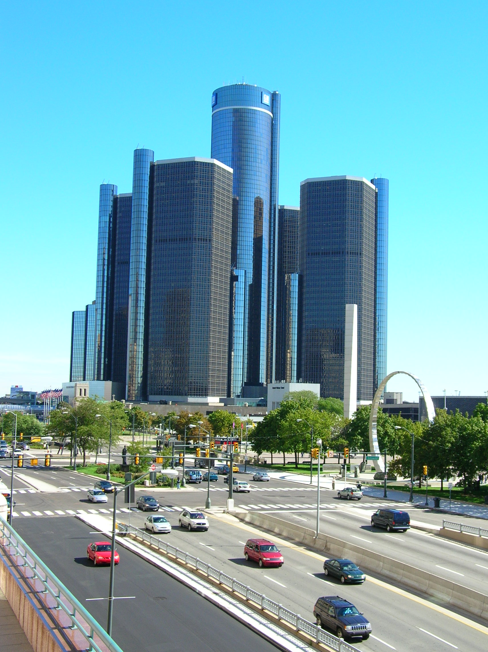 Perfect building for a evil company hdqs skyscrapercity for Detroit architectes