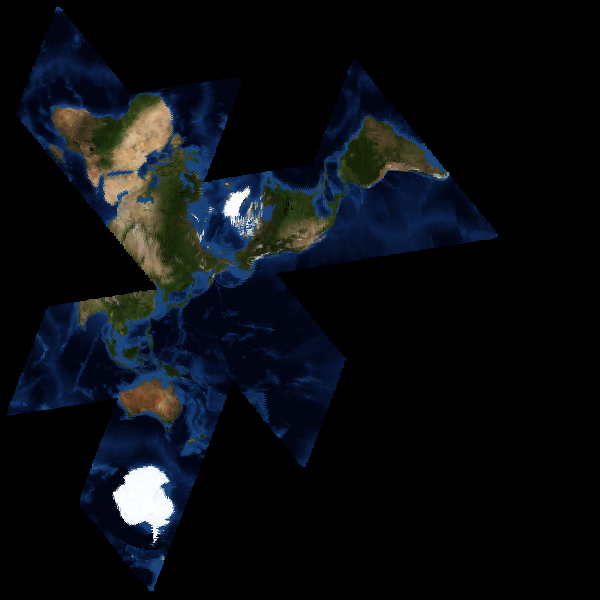 map of earth after 2012